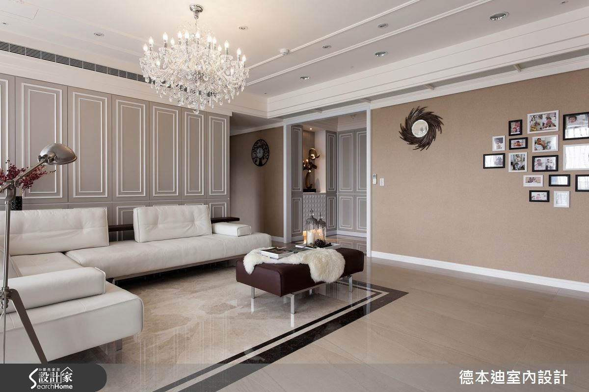 65坪新成屋(5年以下)_新古典客廳案例圖片_德本迪室內設計有限公司_德本迪_06之8