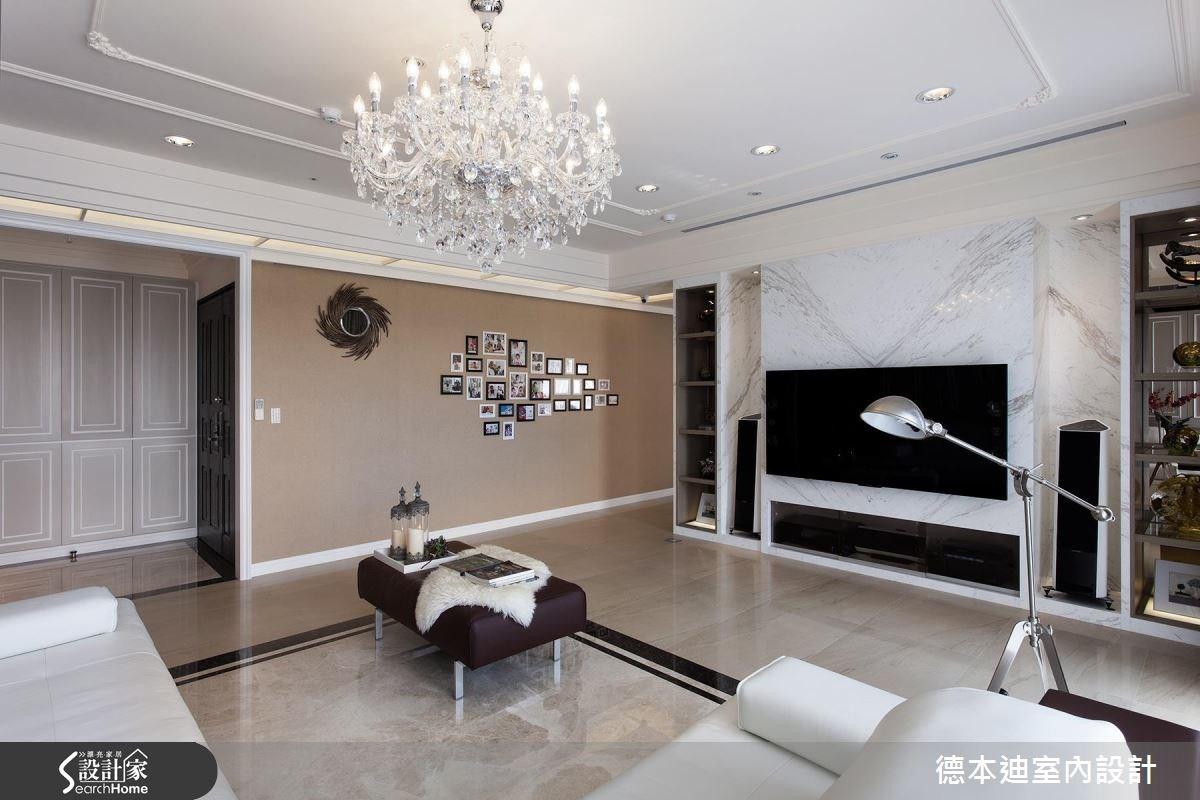 65坪新成屋(5年以下)_新古典客廳案例圖片_德本迪室內設計有限公司_德本迪_06之9