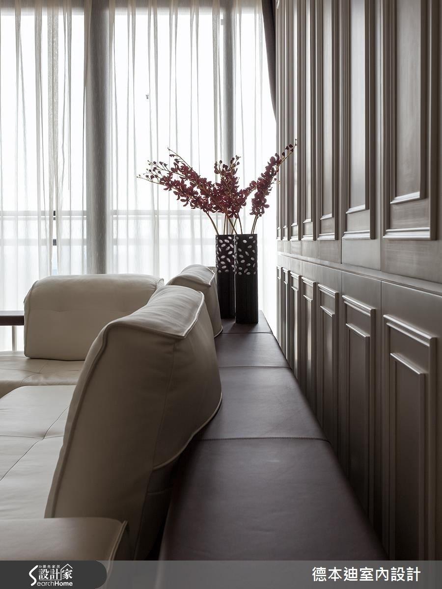 65坪新成屋(5年以下)_新古典客廳案例圖片_德本迪室內設計有限公司_德本迪_06之10