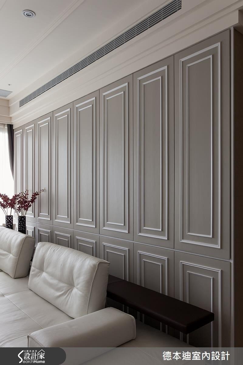65坪新成屋(5年以下)_新古典客廳案例圖片_德本迪室內設計有限公司_德本迪_06之11