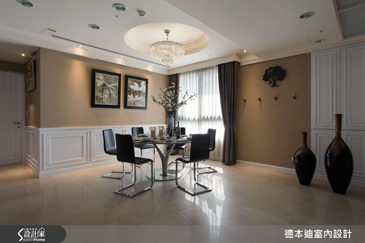 65坪新成屋(5年以下)_新古典餐廳案例圖片_德本迪室內設計有限公司_德本迪_06之15