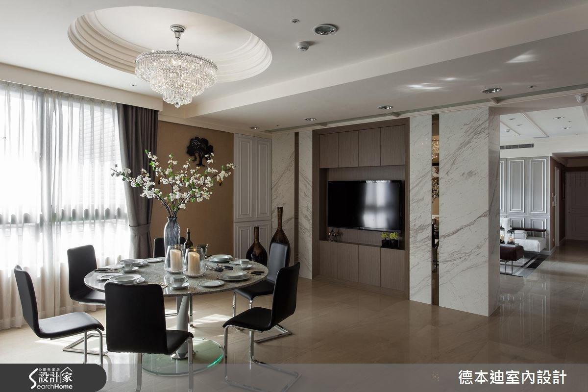 65坪新成屋(5年以下)_新古典餐廳案例圖片_德本迪室內設計有限公司_德本迪_06之16