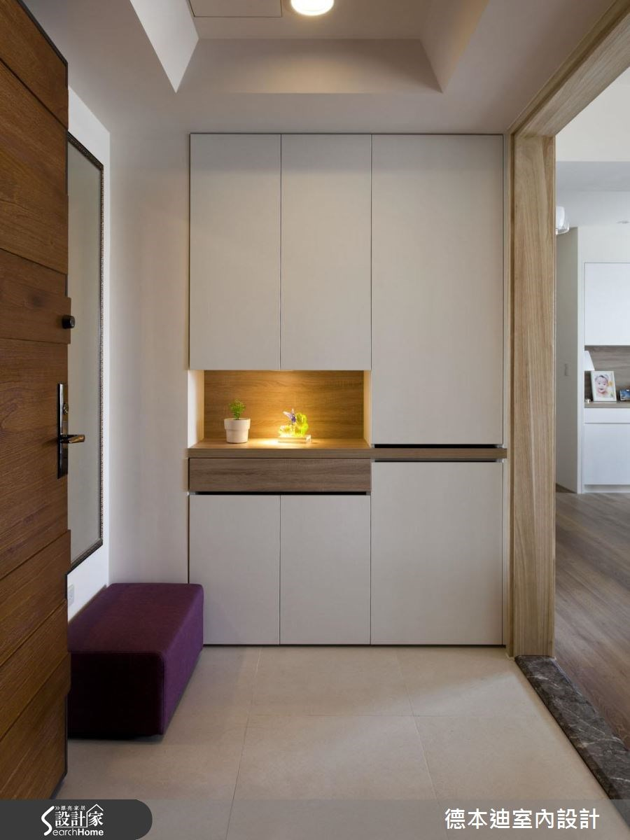30坪新成屋(5年以下)_北歐風玄關案例圖片_德本迪室內設計有限公司_德本迪_07之1