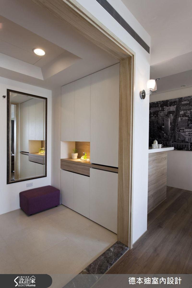 30坪新成屋(5年以下)_北歐風玄關案例圖片_德本迪室內設計有限公司_德本迪_07之3