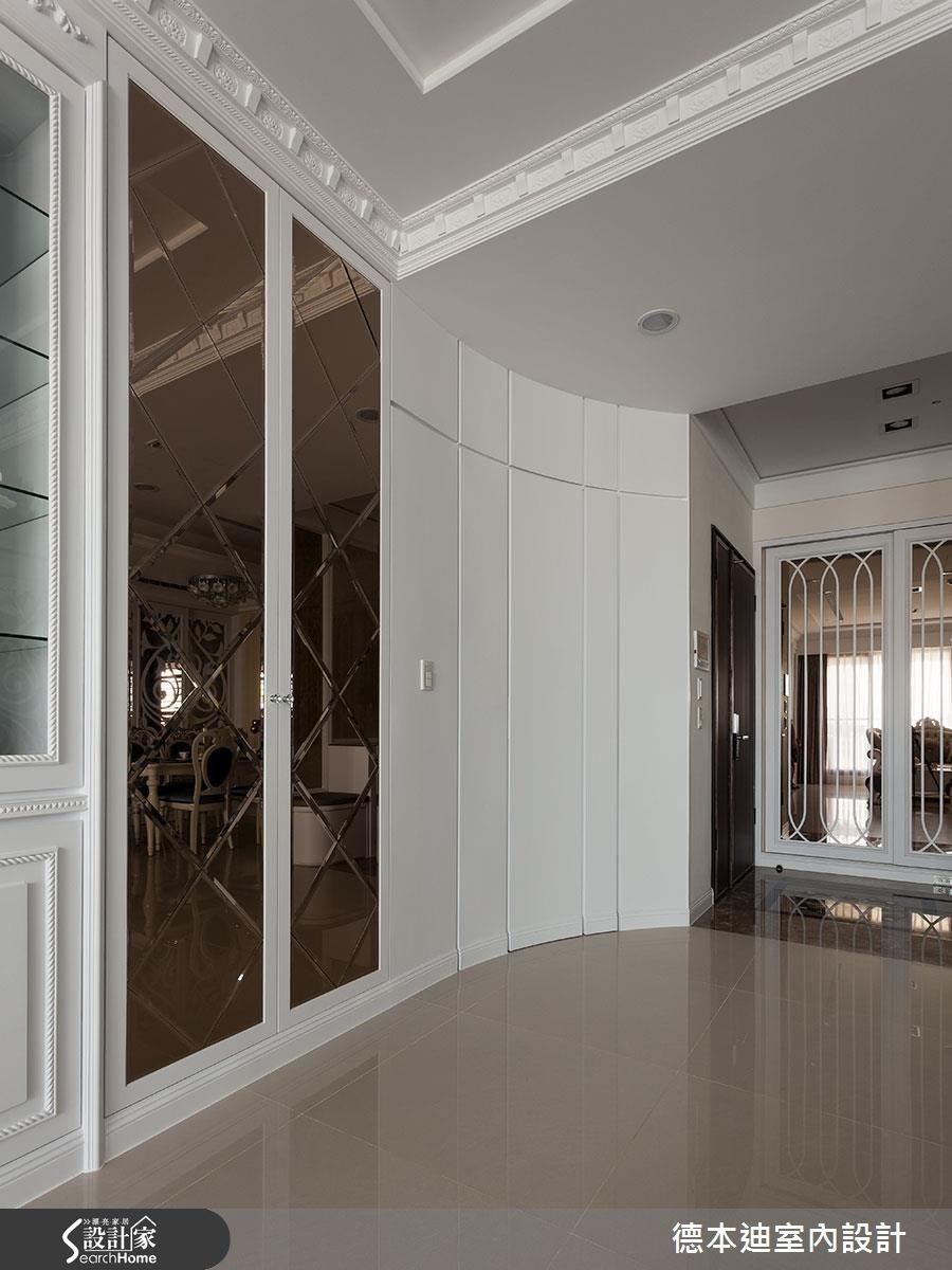 40坪新成屋(5年以下)_新古典玄關案例圖片_德本迪室內設計有限公司_德本迪_12之4
