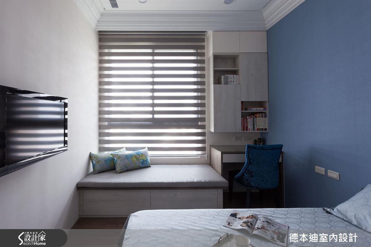 40坪新成屋(5年以下)_新古典臥榻臥室案例圖片_德本迪室內設計有限公司_德本迪_12之35