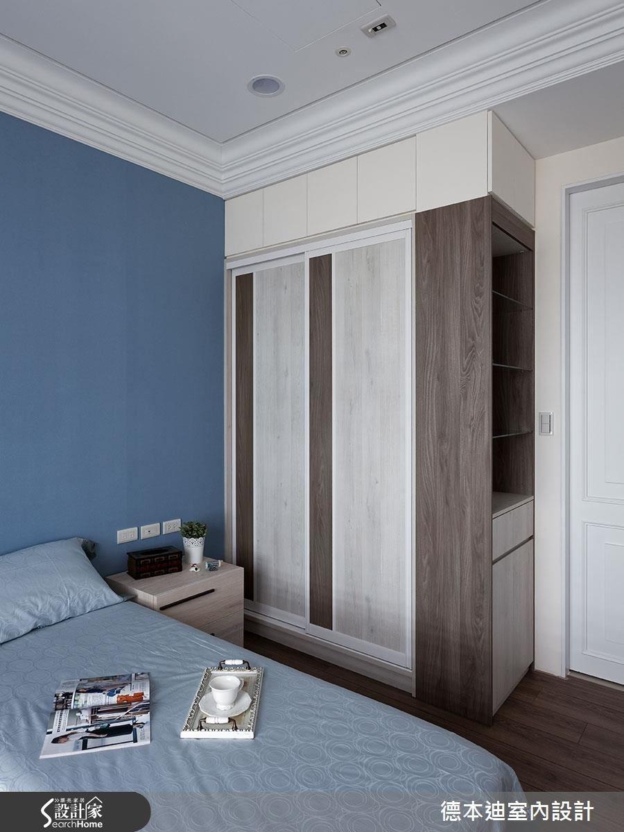 40坪新成屋(5年以下)_新古典臥室案例圖片_德本迪室內設計有限公司_德本迪_12之36