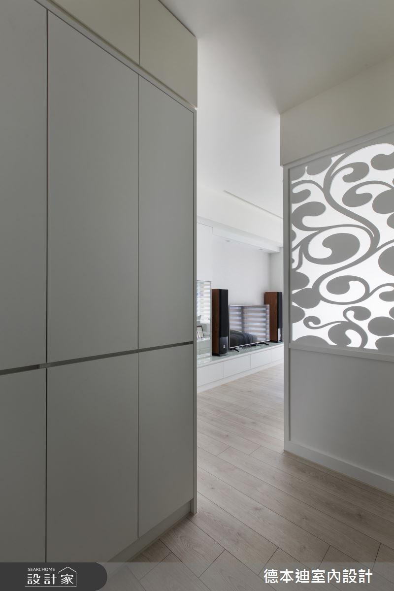 25坪新成屋(5年以下)_現代風玄關案例圖片_德本迪室內設計有限公司_德本迪_14之2