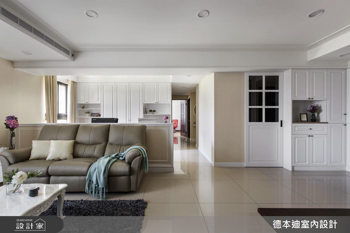 29坪新成屋(5年以下)_美式風客廳案例圖片_德本迪室內設計有限公司_德本迪_15之3