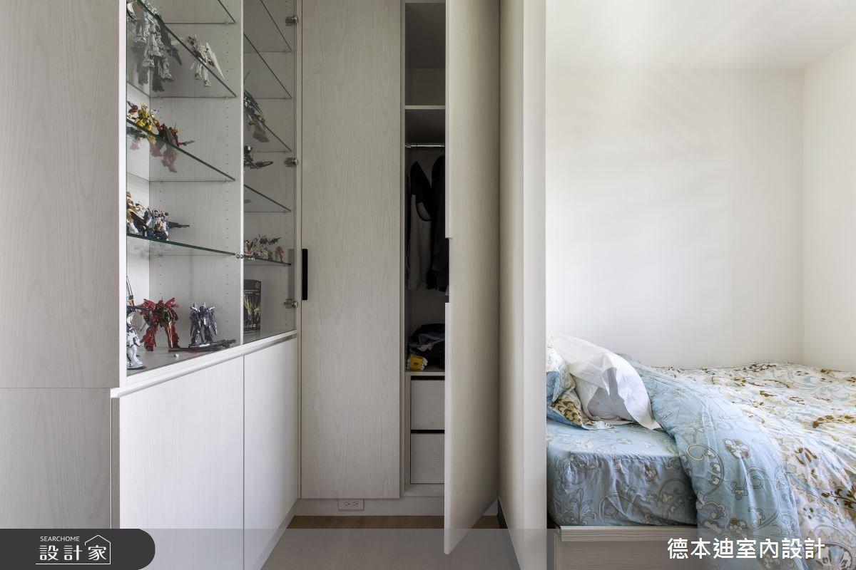 29坪新成屋(5年以下)_美式風臥室案例圖片_德本迪室內設計有限公司_德本迪_15之32
