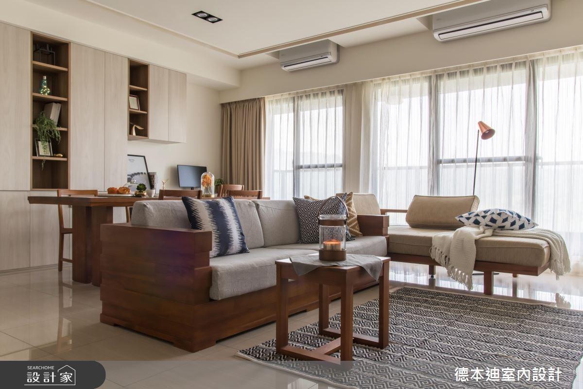 30坪預售屋_現代風客廳案例圖片_德本迪室內設計有限公司_德本迪_16之3