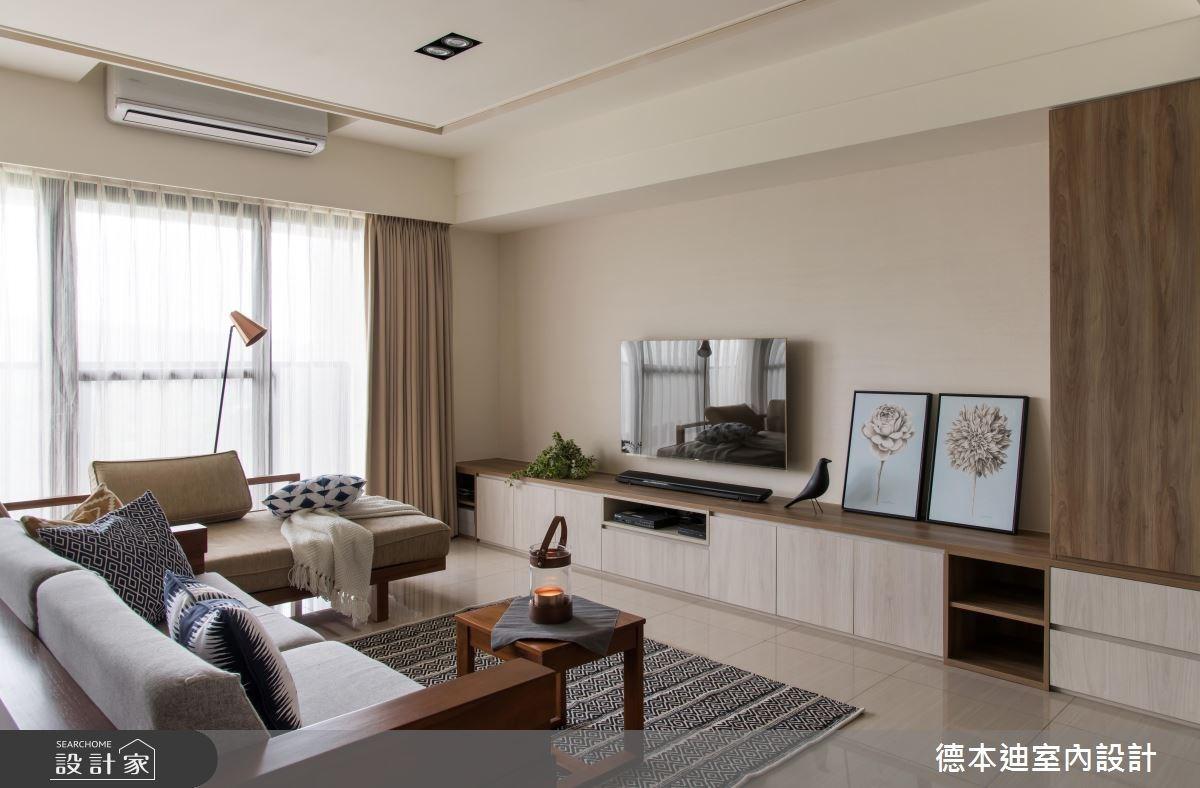 30坪預售屋_現代風客廳案例圖片_德本迪室內設計有限公司_德本迪_16之4