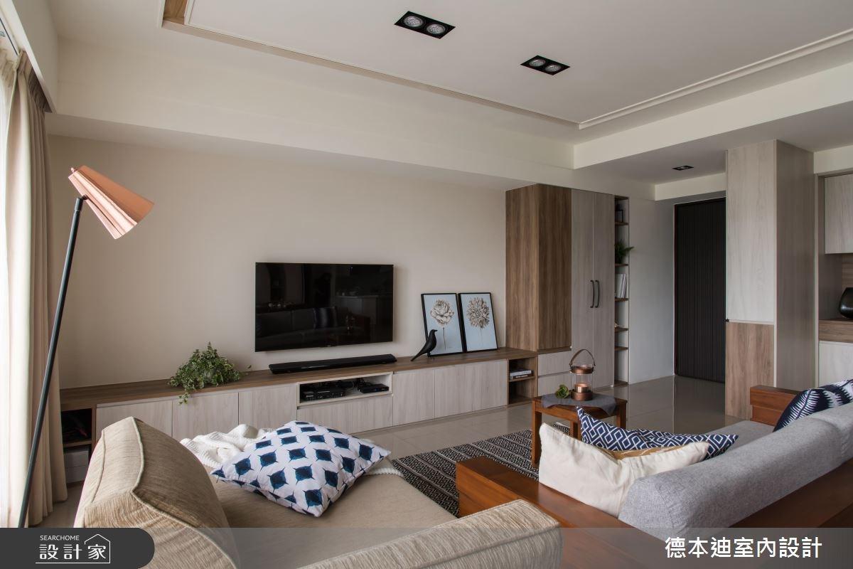 30坪預售屋_現代風客廳案例圖片_德本迪室內設計有限公司_德本迪_16之5