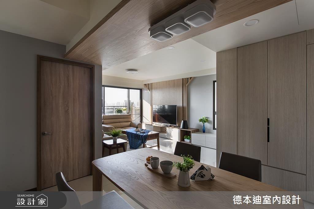 30坪預售屋_混搭風餐廳案例圖片_德本迪室內設計有限公司_德本迪_17之4