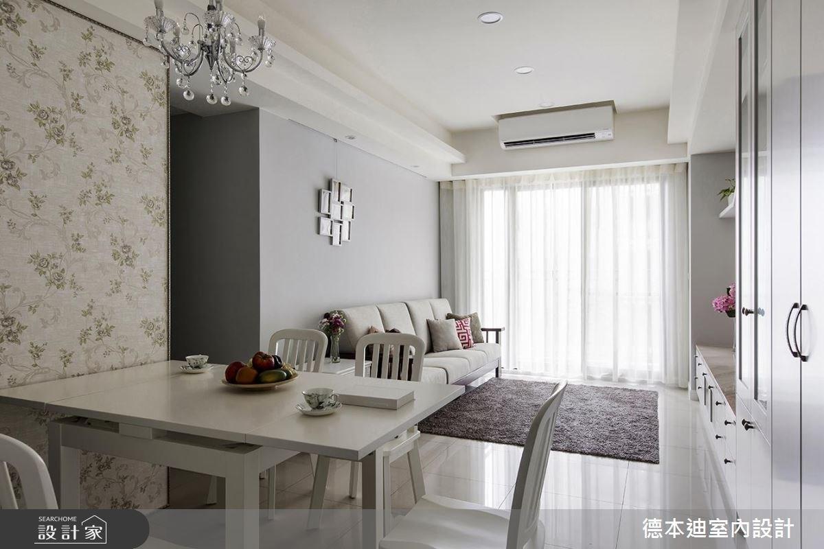 25坪新成屋(5年以下)_混搭風餐廳案例圖片_德本迪室內設計有限公司_德本迪_18之3