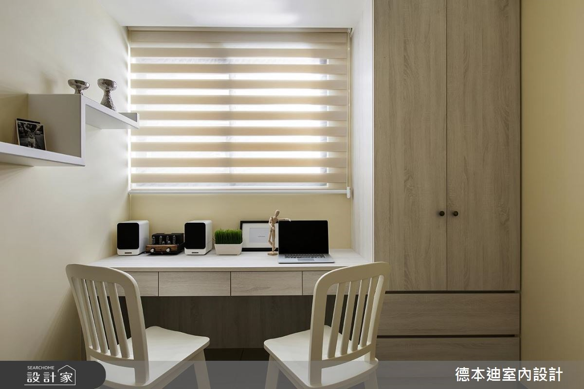 25坪新成屋(5年以下)_混搭風書房案例圖片_德本迪室內設計有限公司_德本迪_18之23