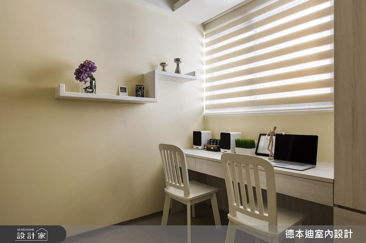 25坪新成屋(5年以下)_混搭風書房案例圖片_德本迪室內設計有限公司_德本迪_18之24