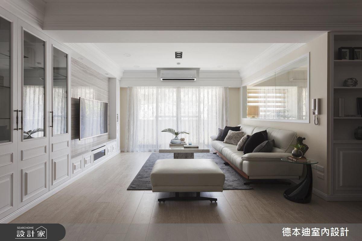 老屋(16~30年)_美式風客廳案例圖片_德本迪室內設計有限公司_德本迪_19之2
