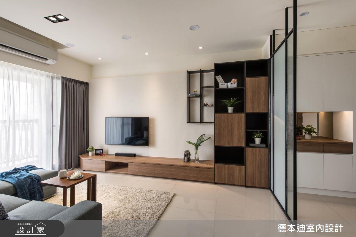 新成屋(5年以下)_混搭風客廳案例圖片_德本迪室內設計有限公司_德本迪_21之3