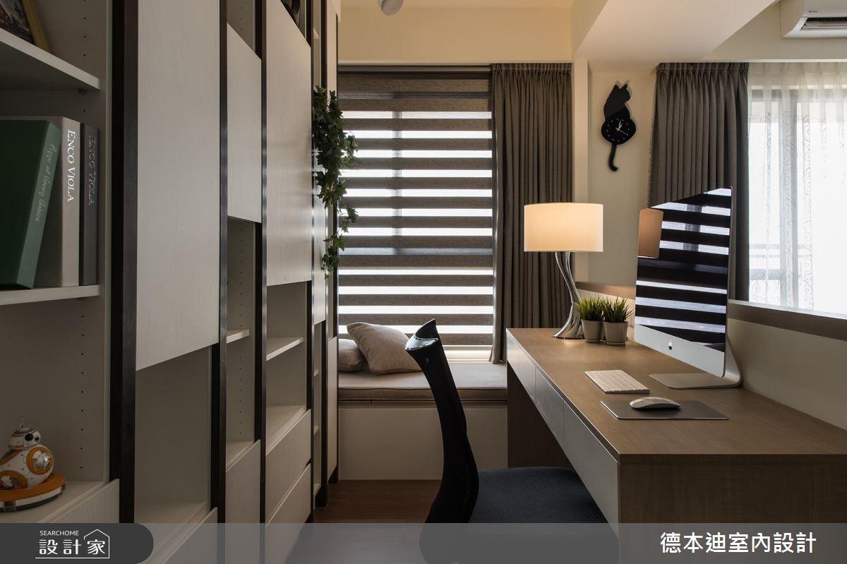20坪預售屋_現代風工作區案例圖片_德本迪室內設計有限公司_德本迪_22之19