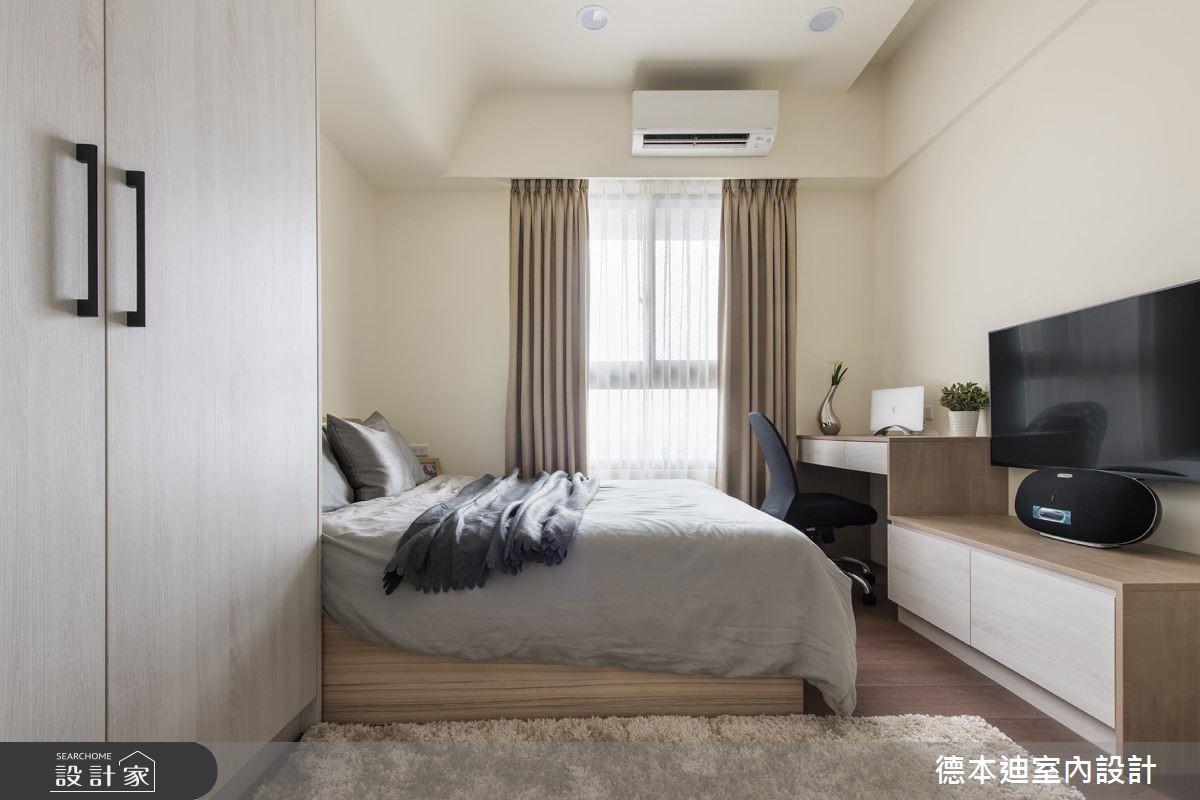 20坪預售屋_現代風臥室案例圖片_德本迪室內設計有限公司_德本迪_22之22