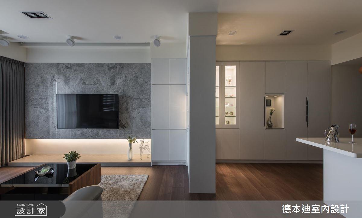 20坪預售屋_現代風客廳案例圖片_德本迪室內設計有限公司_德本迪_22之5
