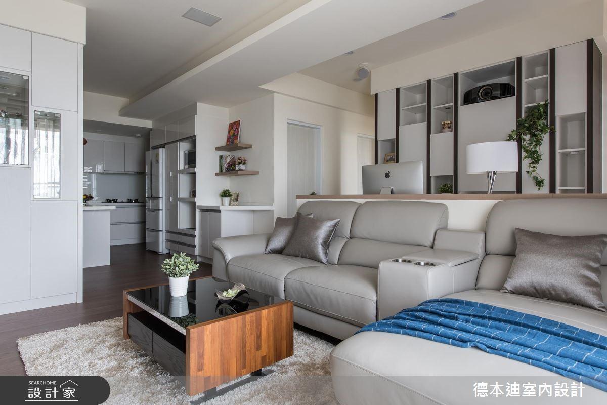 20坪預售屋_現代風客廳案例圖片_德本迪室內設計有限公司_德本迪_22之12