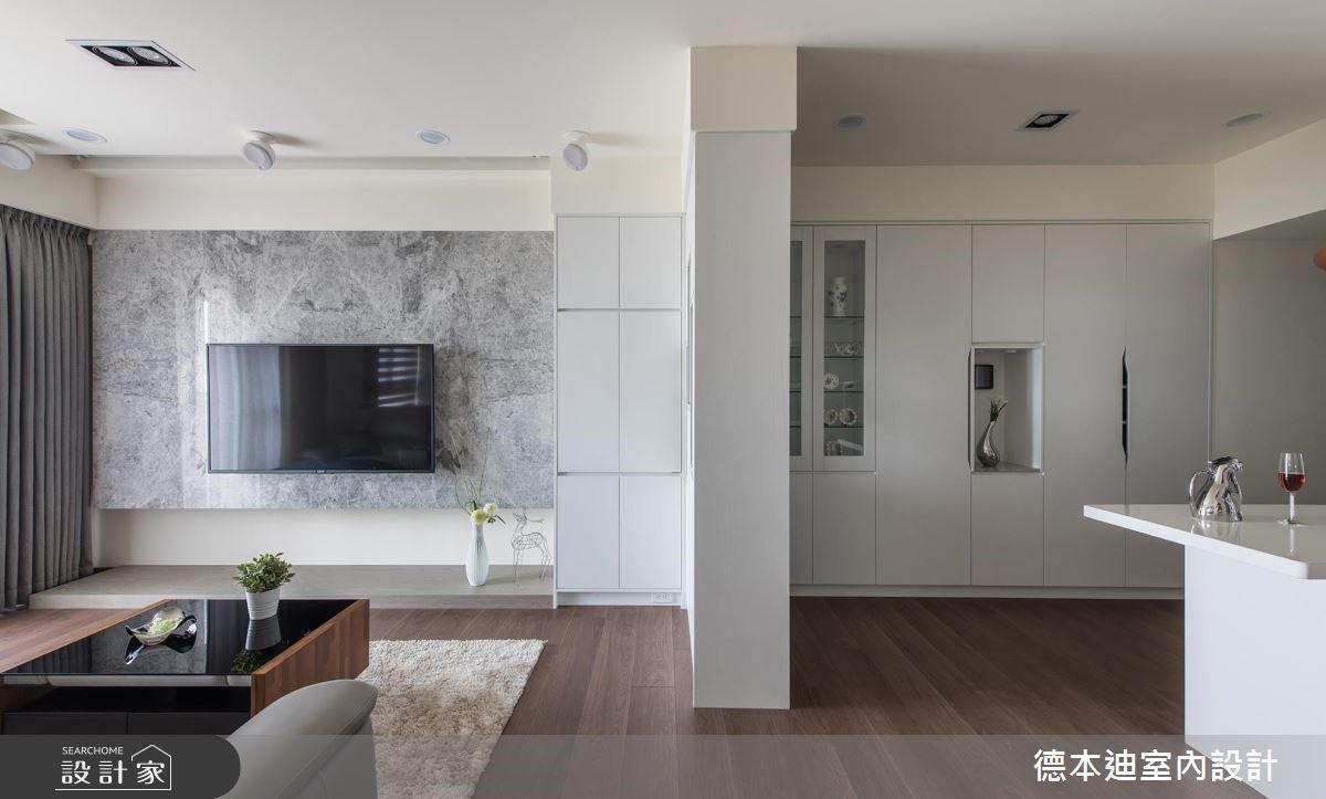 20坪預售屋_現代風客廳案例圖片_德本迪室內設計有限公司_德本迪_22之4