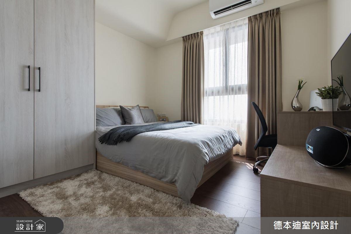 20坪預售屋_現代風臥室案例圖片_德本迪室內設計有限公司_德本迪_22之21