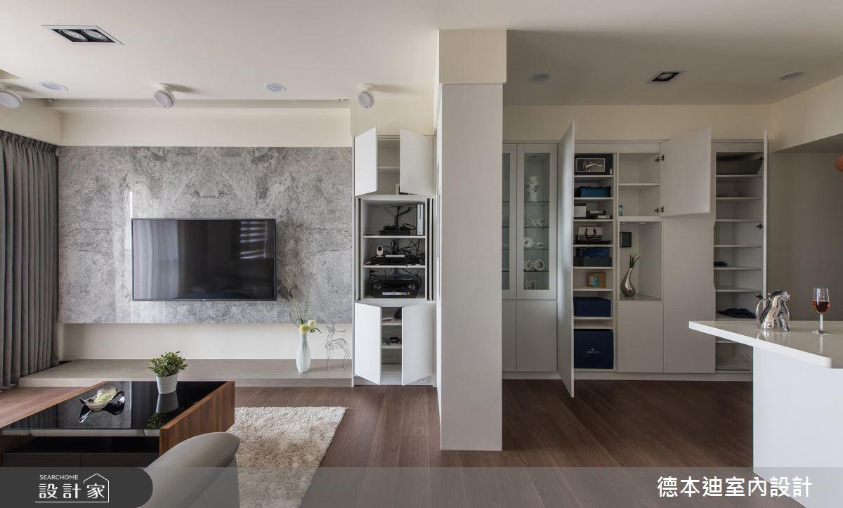 20坪預售屋_現代風客廳案例圖片_德本迪室內設計有限公司_德本迪_22之6