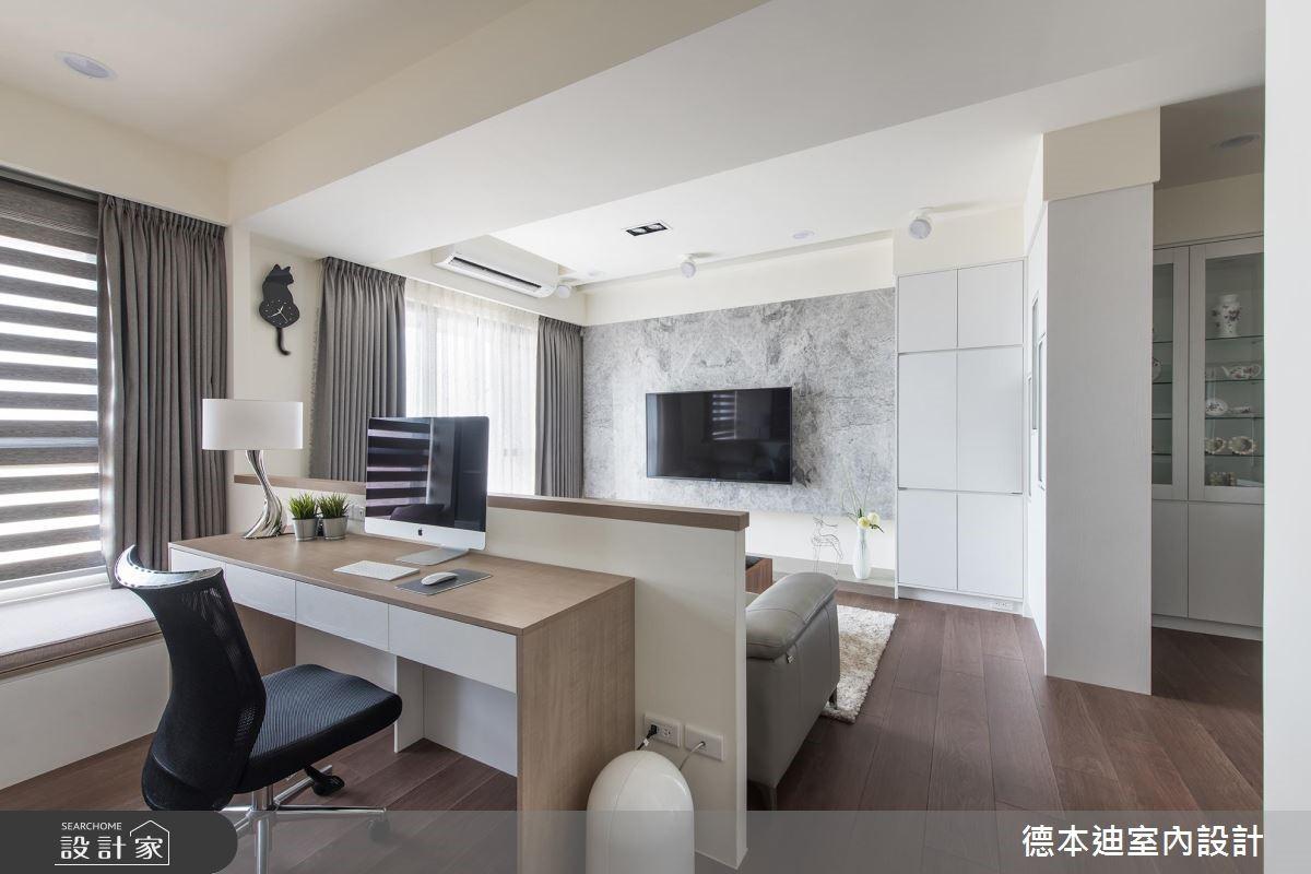 20坪預售屋_現代風工作區案例圖片_德本迪室內設計有限公司_德本迪_22之17