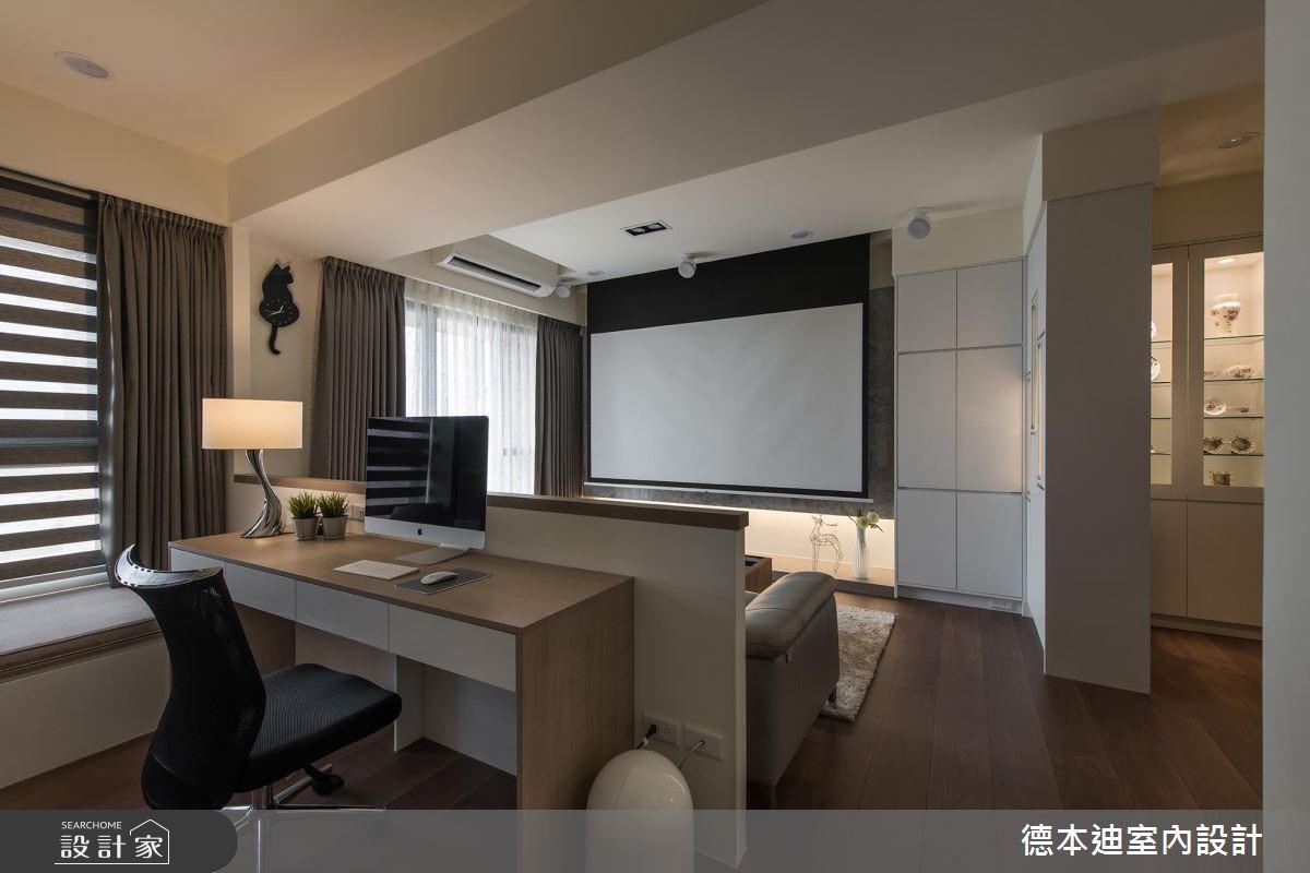 20坪預售屋_現代風工作區案例圖片_德本迪室內設計有限公司_德本迪_22之18