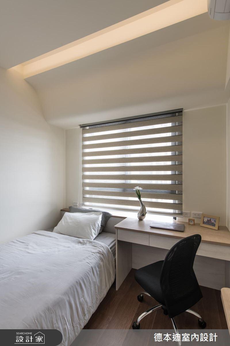 20坪預售屋_現代風臥室案例圖片_德本迪室內設計有限公司_德本迪_22之23