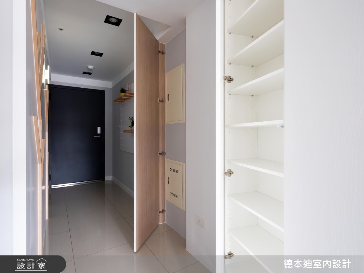 22坪預售屋_北歐風玄關案例圖片_德本迪室內設計有限公司_德本迪_24之2