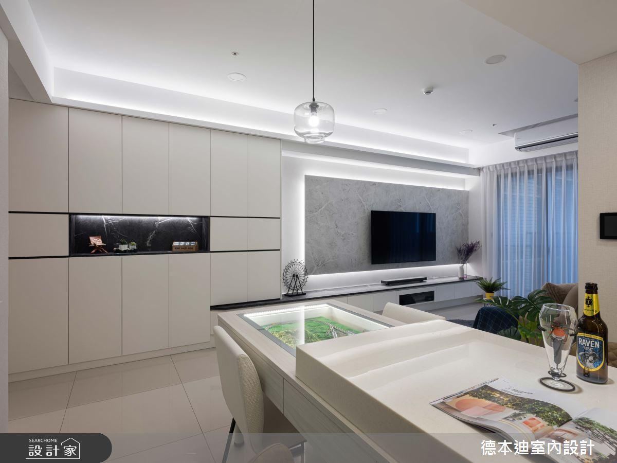 22坪新成屋(5年以下)_現代風餐廳案例圖片_德本迪室內設計有限公司_德本迪_26之2