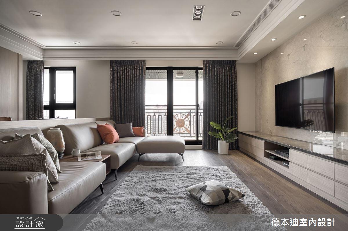 37坪新成屋(5年以下)_現代風客廳案例圖片_德本迪室內設計有限公司_德本迪_27之3