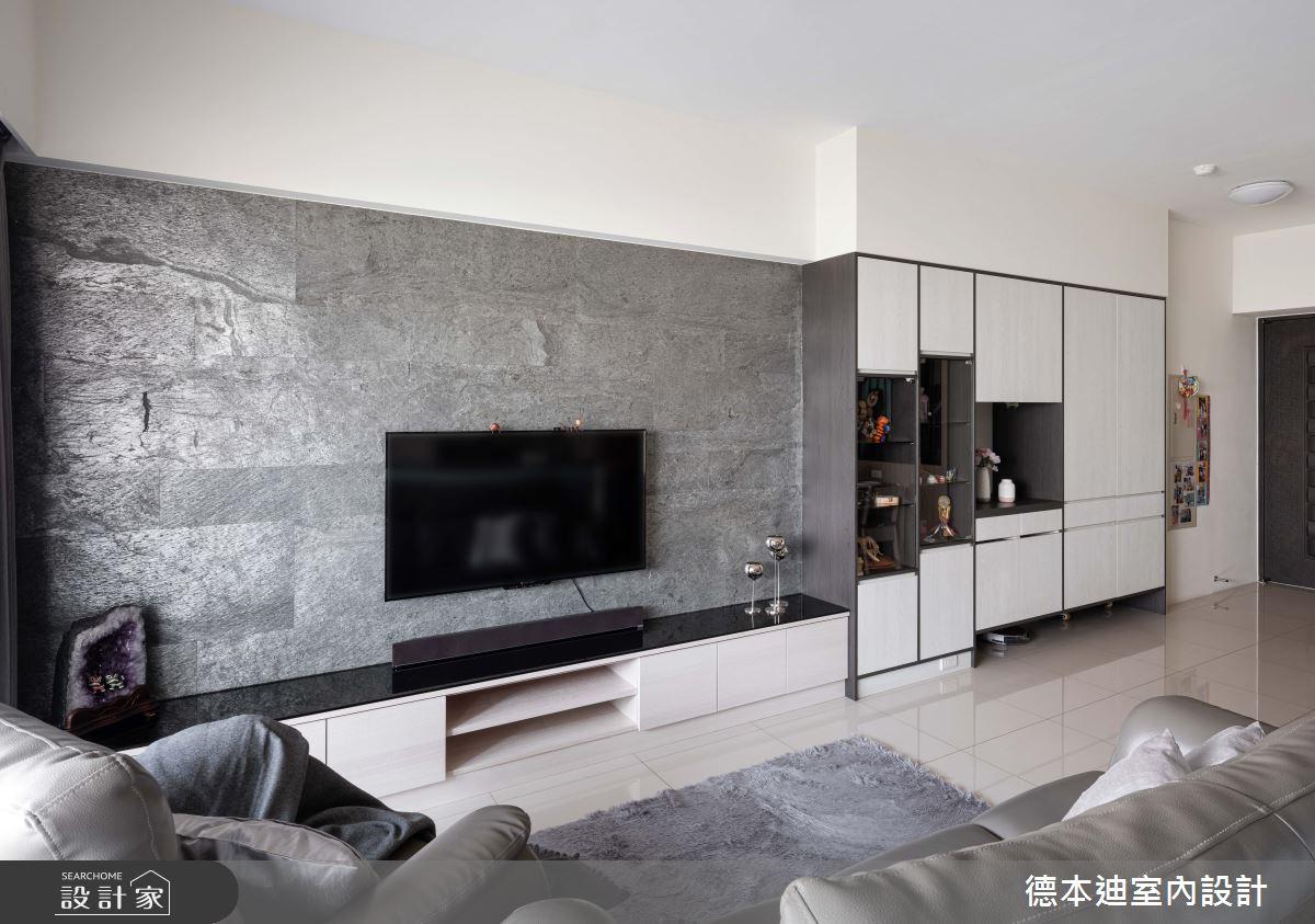 24坪預售屋_現代風客廳案例圖片_德本迪室內設計有限公司_德本迪_29之3