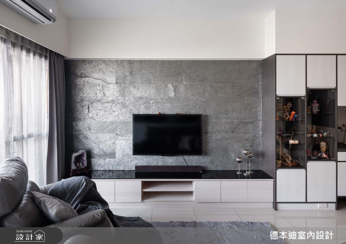 24坪預售屋_現代風客廳案例圖片_德本迪室內設計有限公司_德本迪_29之4
