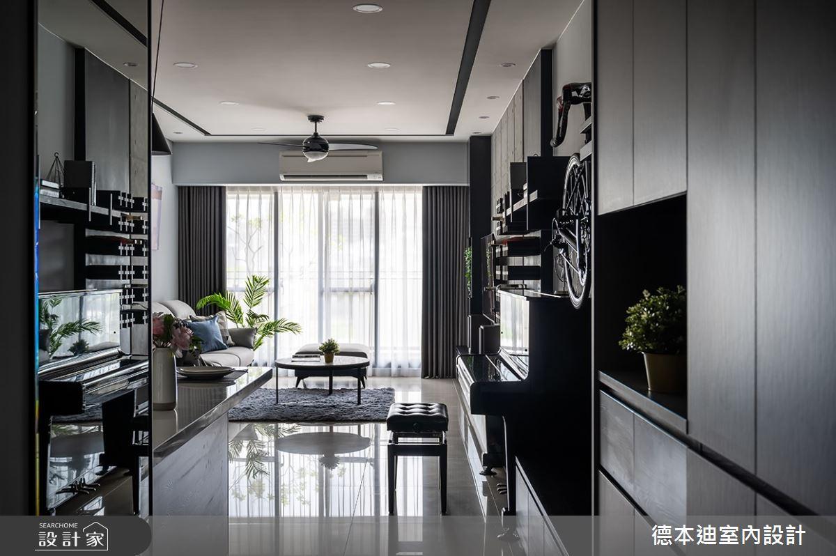 35坪新成屋(5年以下)_現代風玄關案例圖片_德本迪室內設計有限公司_德本迪_30之2