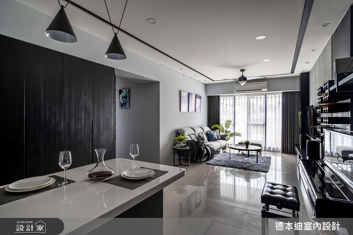 35坪新成屋(5年以下)_現代風餐廳案例圖片_德本迪室內設計有限公司_德本迪_30之4
