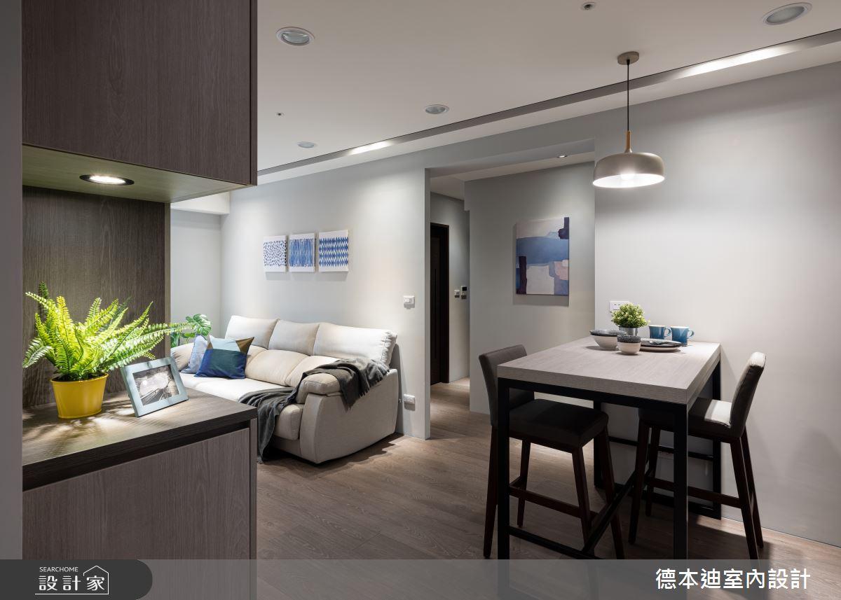 16坪新成屋(5年以下)_現代風案例圖片_德本迪室內設計有限公司_德本迪_31之1