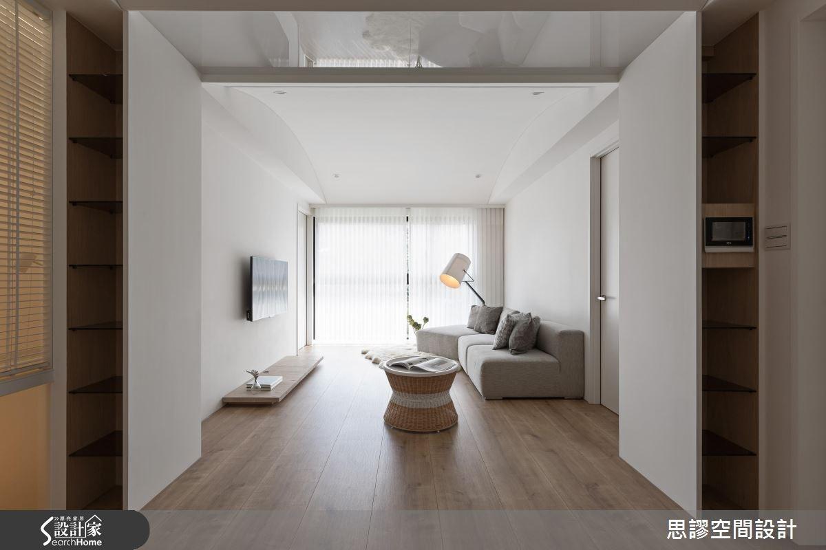 28坪新成屋(5年以下)_混搭風案例圖片_思謬空間設計有限公司_思謬_03之1