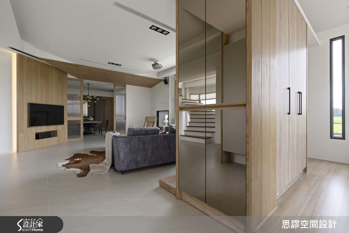 90坪新成屋(5年以下)_混搭風案例圖片_思謬空間設計有限公司_思謬_04之1
