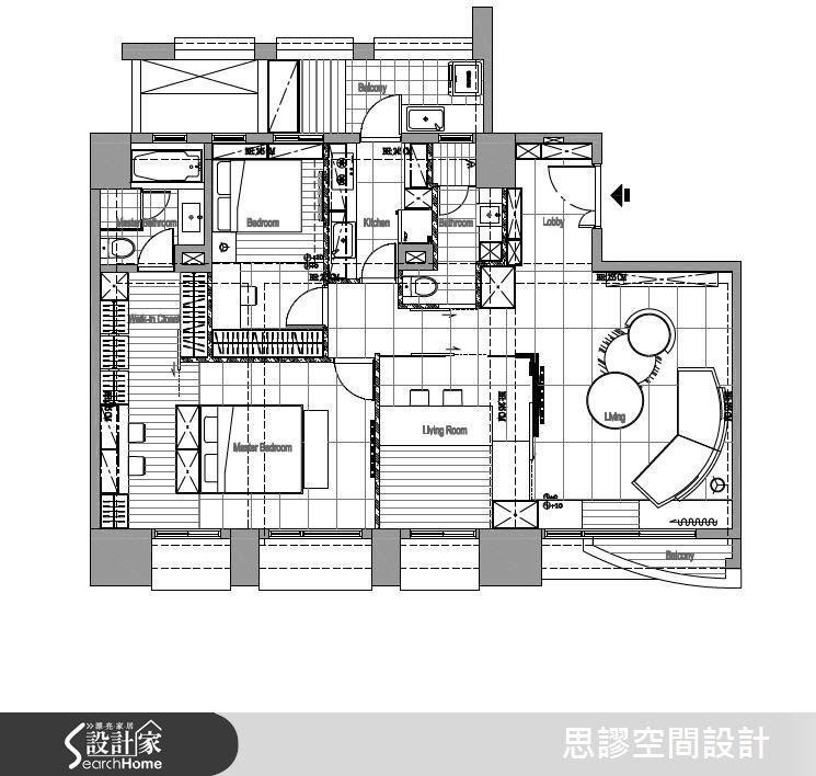 30坪新成屋(5年以下)_混搭風案例圖片_思謬空間設計有限公司_思謬_05之22