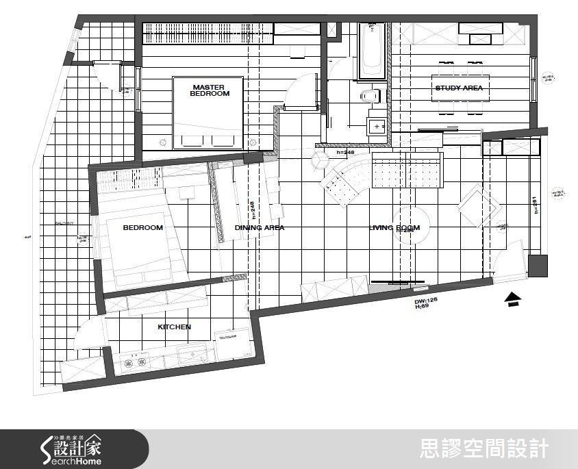 27坪老屋(16~30年)_混搭風案例圖片_思謬空間設計有限公司_思謬_06之18