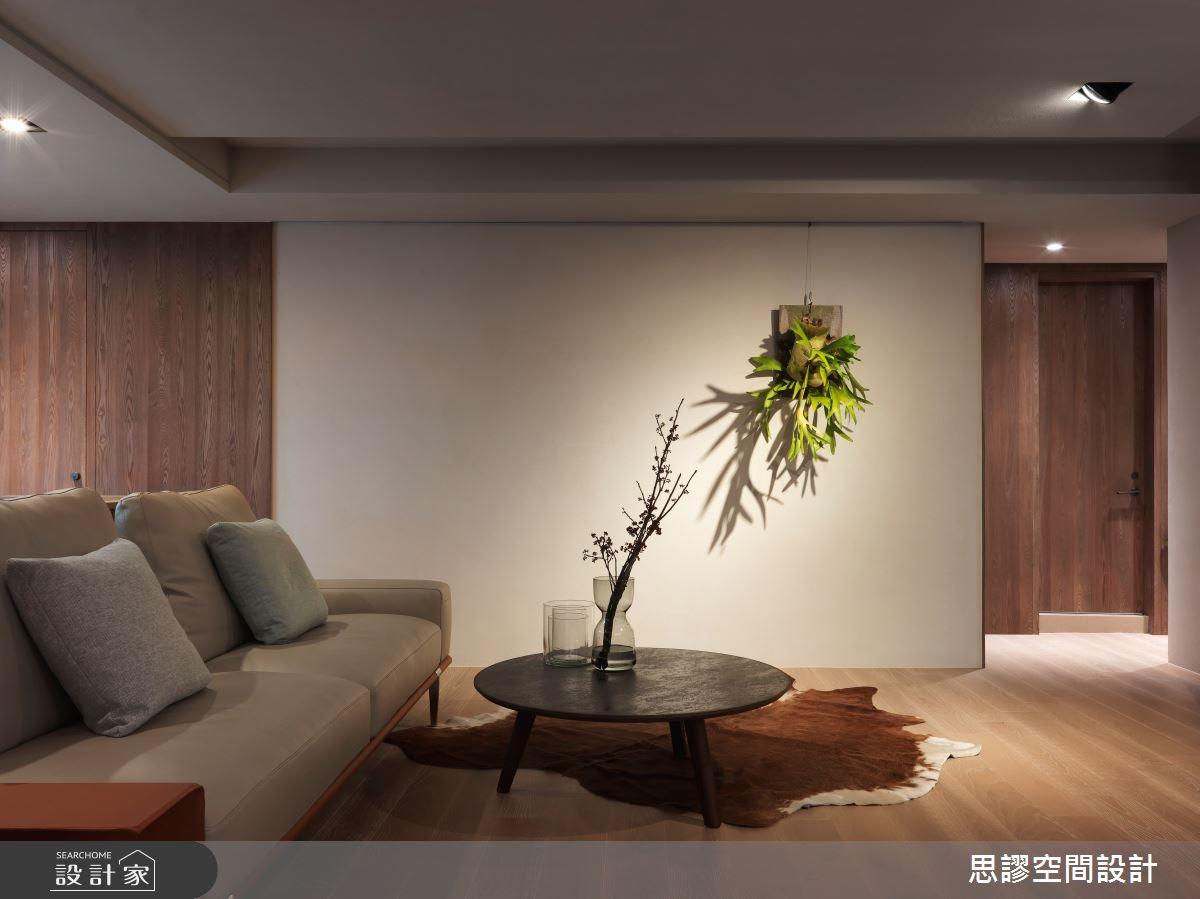 35坪新成屋(5年以下)_簡約風客廳案例圖片_思謬空間設計有限公司_思謬_10之5
