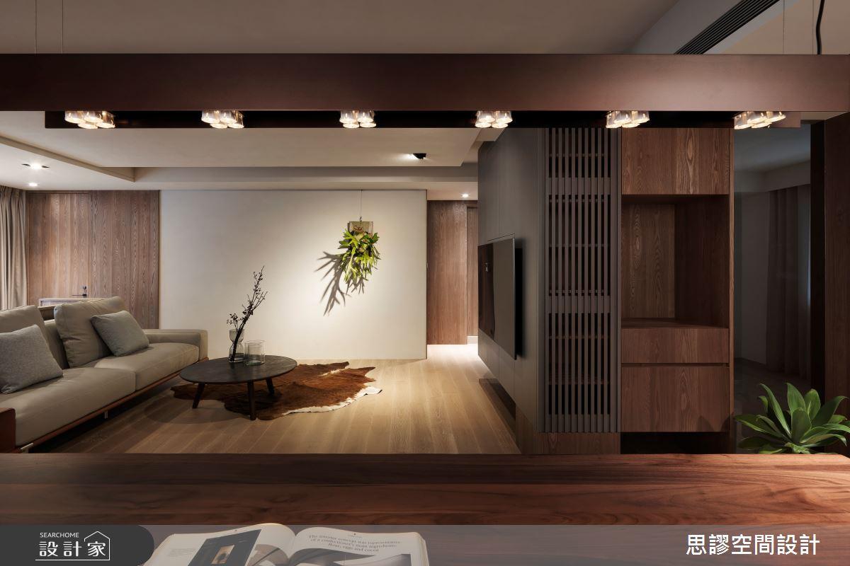 35坪新成屋(5年以下)_簡約風客廳案例圖片_思謬空間設計有限公司_思謬_10之4