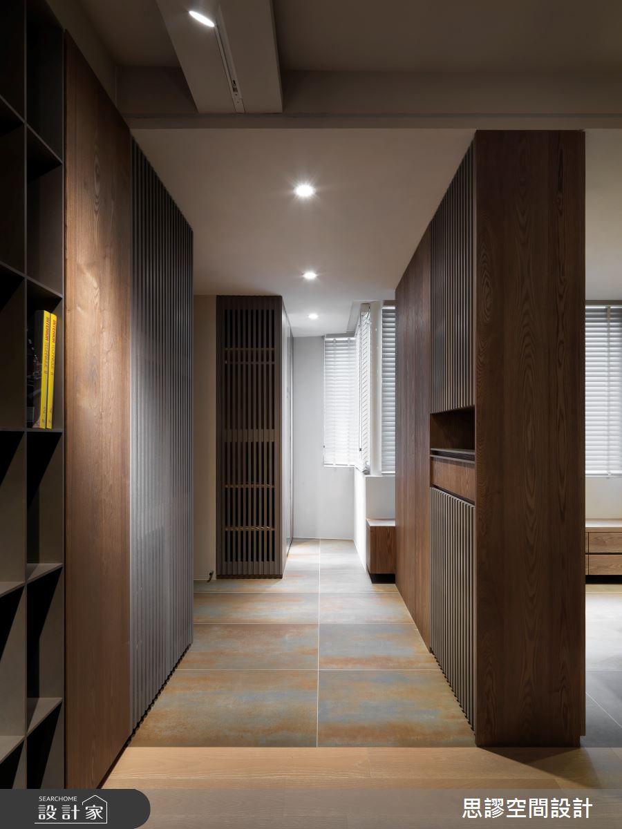 35坪新成屋(5年以下)_簡約風走廊案例圖片_思謬空間設計有限公司_思謬_10之10