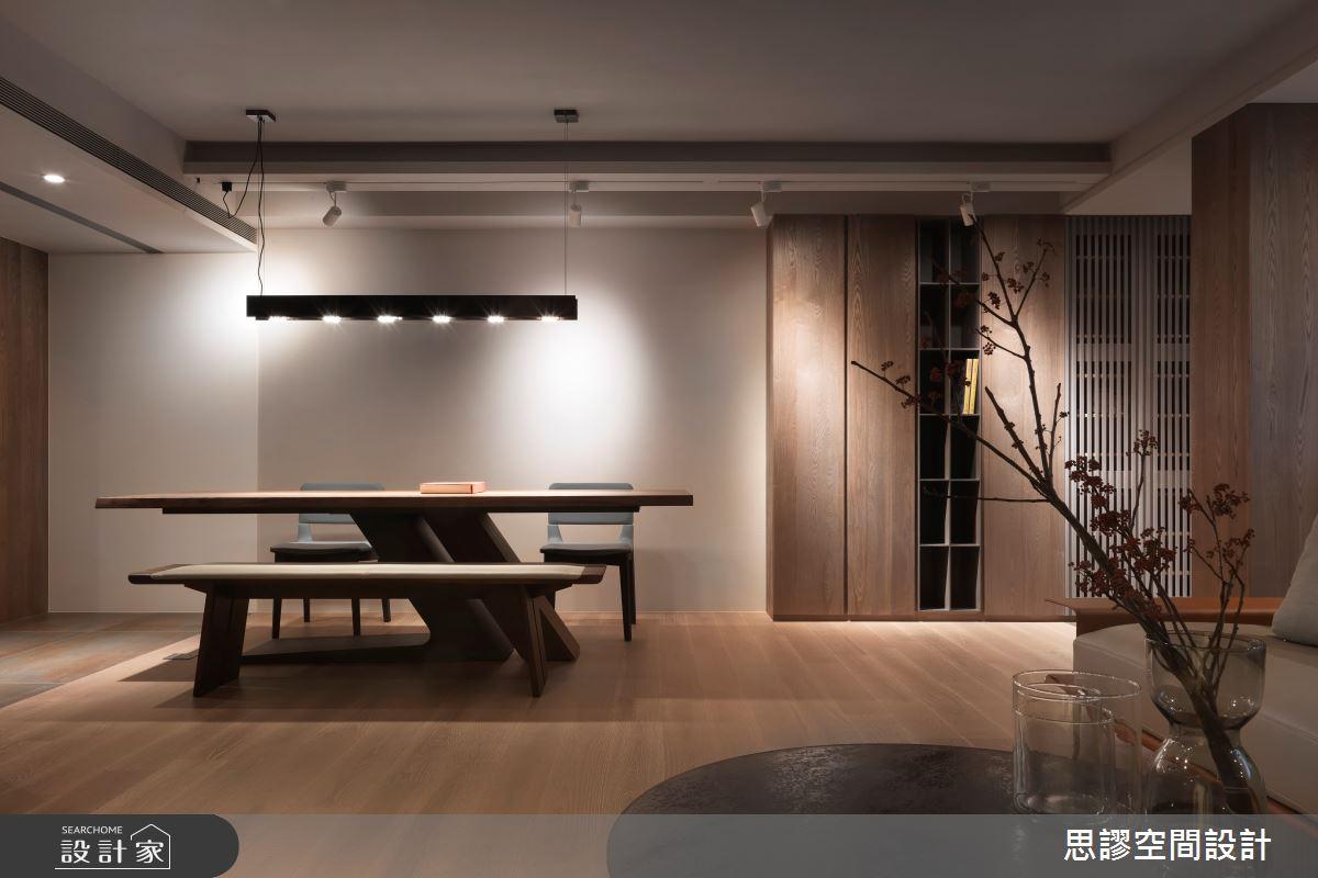 35坪新成屋(5年以下)_簡約風餐廳案例圖片_思謬空間設計有限公司_思謬_10之7