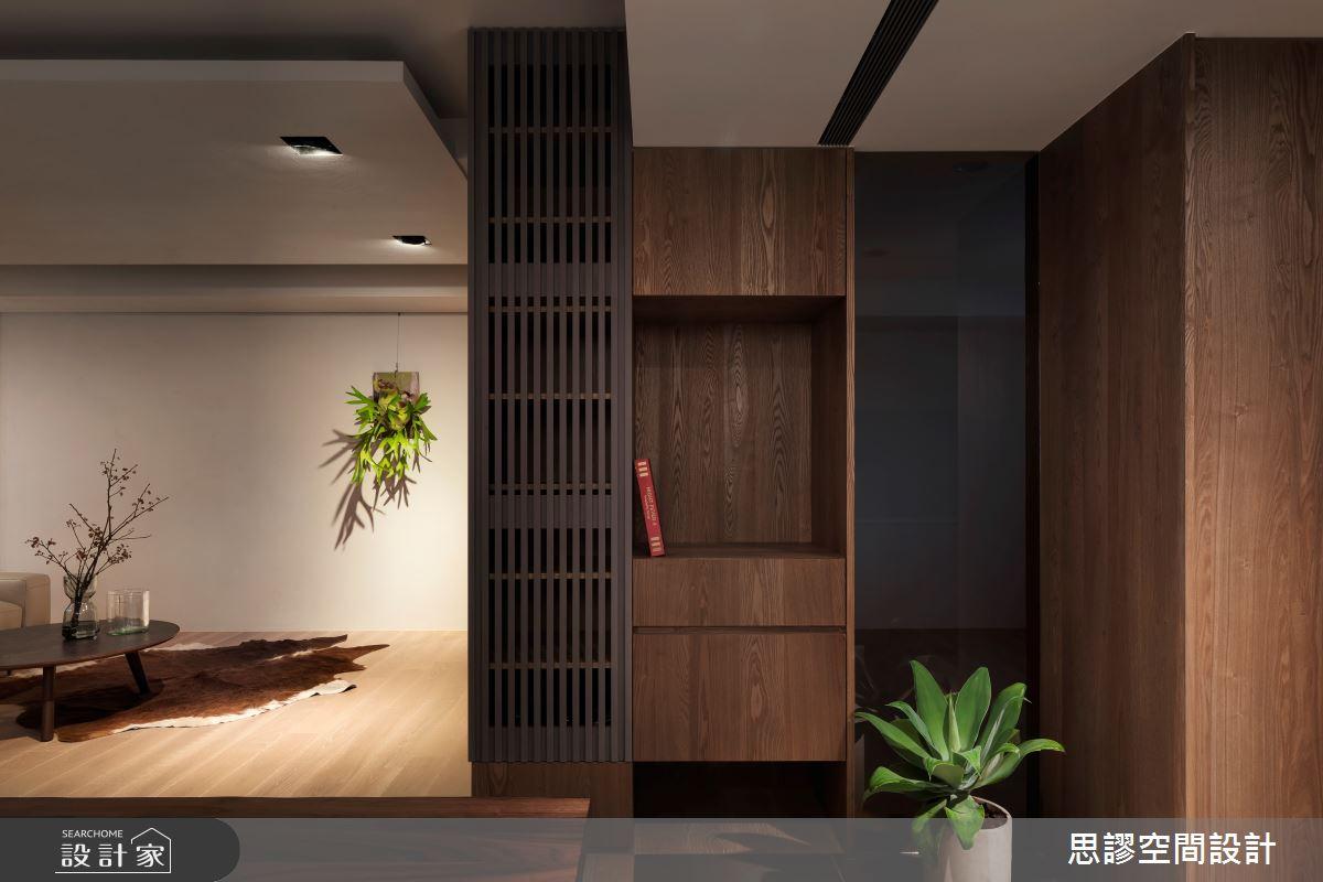 35坪新成屋(5年以下)_簡約風玄關案例圖片_思謬空間設計有限公司_思謬_10之3
